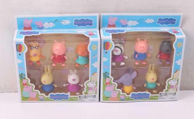 Набор игрушек Свинка пеппа