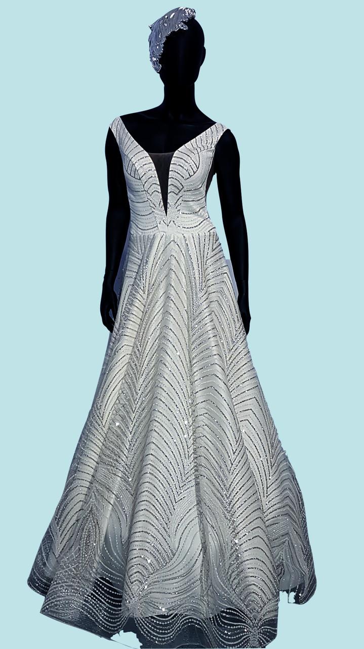 Сукня святкова біла