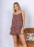 Пижама женская майка и шорты, фото 6