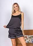 Пижама женская майка и шорты, фото 7