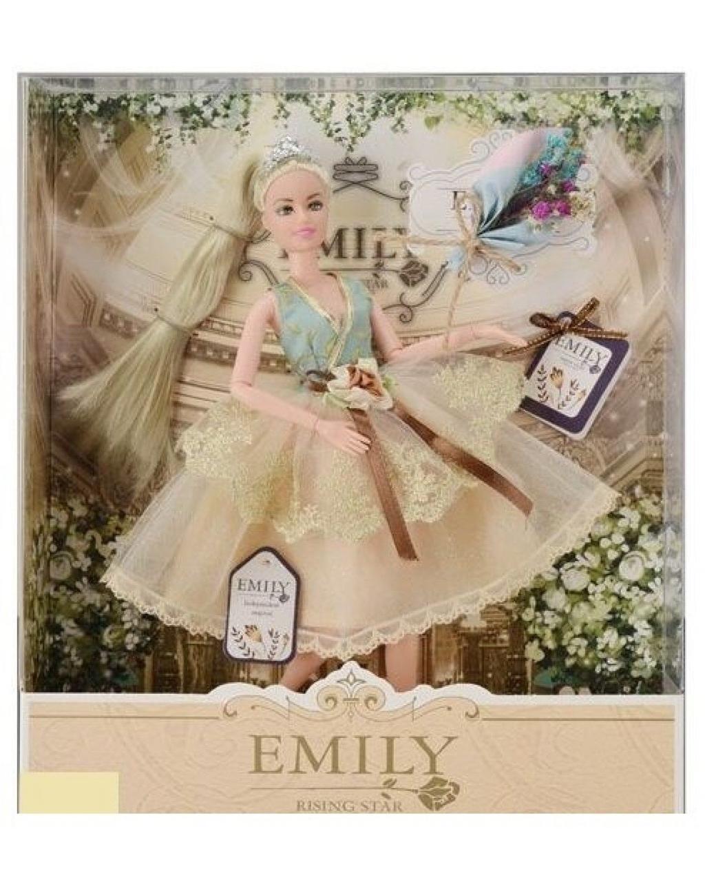 Кукла Эмили Emily Fashion Classics блондинка в платье с высокой детализацией 30см вид 5