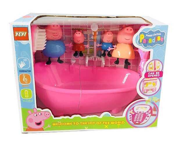 Набор игрушек семья Свинка пеппы