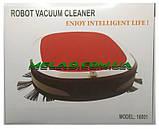 Умный Робот-пылесос Robot Vacuum Cleaner 16001 Features Робот пылесос в Украине, фото 6