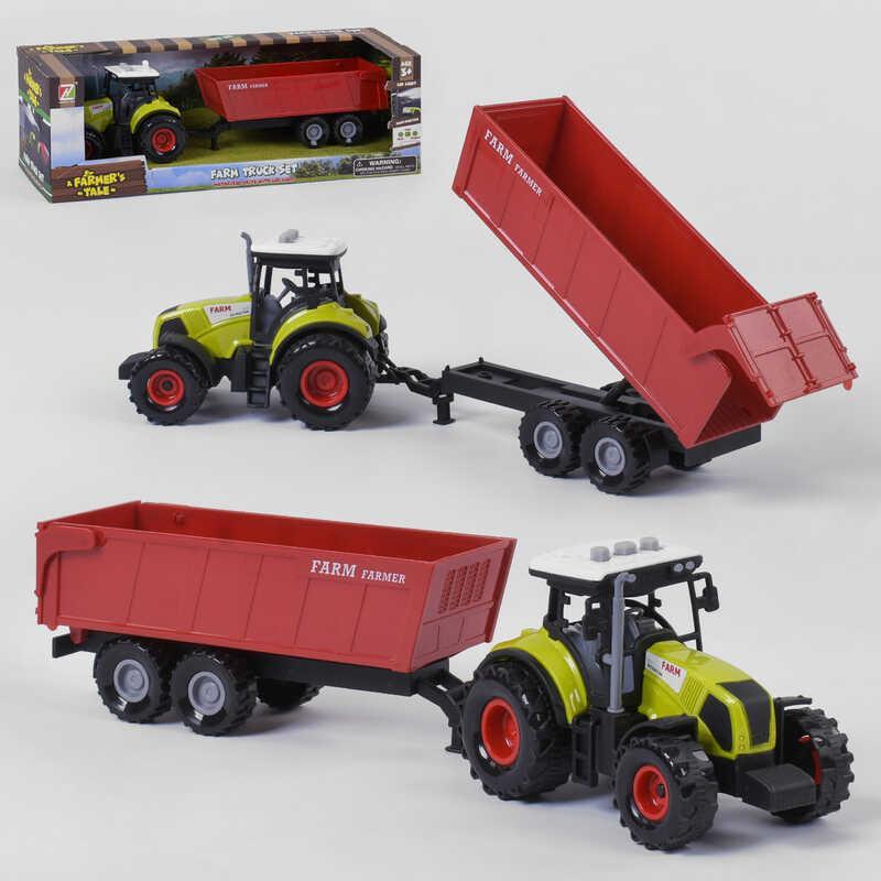 Игрушечный трактор свет, звук, инерция. Игрушка детский трактор
