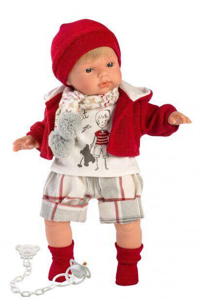 Кукла пупс Llorens Sasha 38см Испания