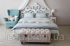 Комплект постільної білизни Prestige двоспальний 175х215 см бірюзовий SKL29-150435