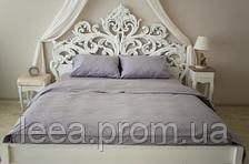 Комплект постільної білизни Prestige двоспальний Silver 175х215 см сірий SKL29-150468