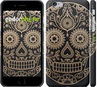 "Чехол на iPhone 6 Plus Ажурный череп ""3211c-48"""