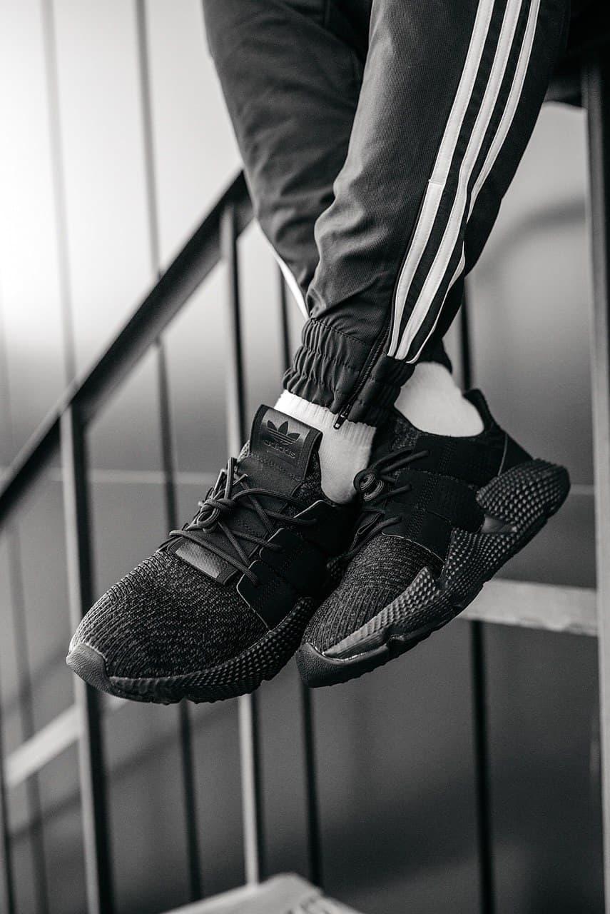 Кроссовки женские Adidas Wmns Prophere Triple Black CQ2126 Адидас Проферы Черные