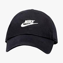 Кепка чоловіча Nike U NSW H86 Futura Washed 913011-010 Чорний