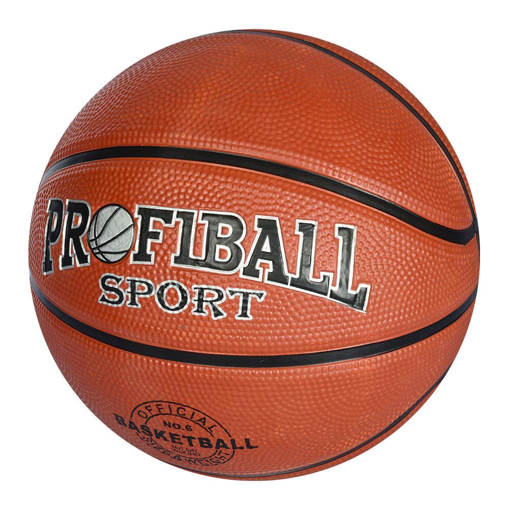 Мяч баскетбольный  №6 резина, 550гр.