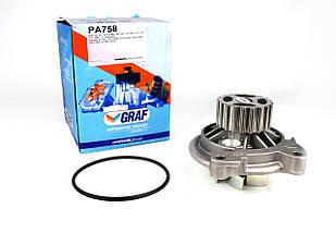 Помпа воды VW Crafter / Lt / T4 2.5TDI (20z) GRAF (Италия) PA758