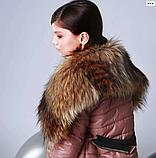 Куртка под пояс для девочки ТМ МОНЕ р-р 140, фото 3