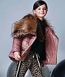 Куртка под пояс для девочки ТМ МОНЕ р-р 140, фото 2