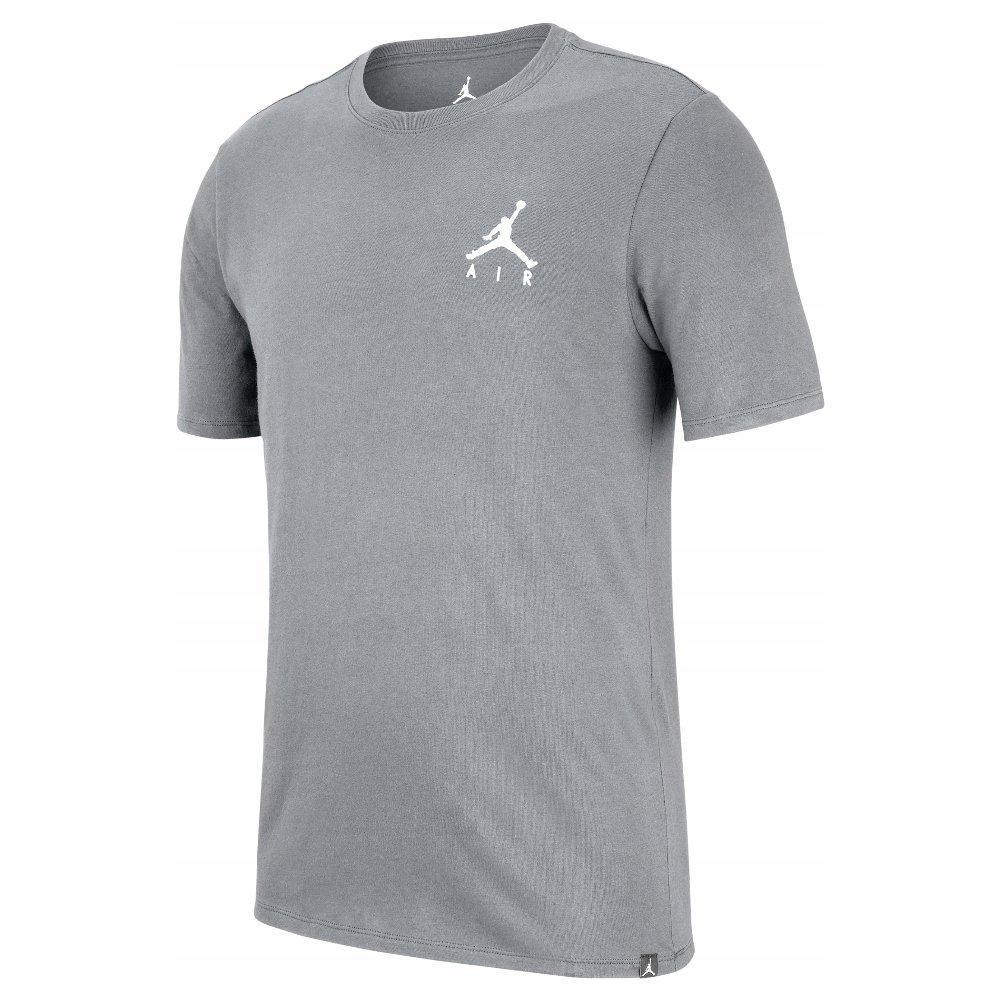 Футболка мужская Jordan Jumpman Air Embroidered Tee AH5296-091 Серый