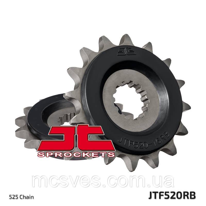 Звезда передняя с резиновой вставкой JT Sprockets JT JTF520.15RB