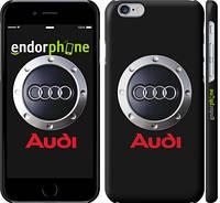"""Чехол на iPhone 6 Audi. Logo v2 """"3105c-45"""""""