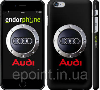 "Чехол на iPhone 6 Plus Audi. Logo v2 ""3105c-48"""
