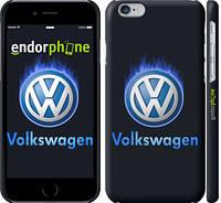 """Чехол на iPhone 6 Volkswagen. Fire logo """"3141c-45"""""""