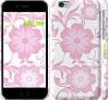 "Чехол на iPhone 6 Розовые цветы 1 ""3009c-45"""