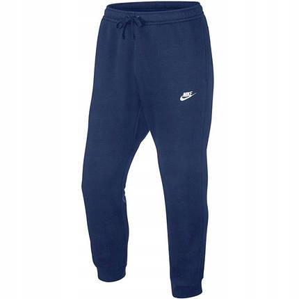 Штаны спортивные мужские Nike Sportswear Club Pant Oh Bb BV2707-410 Темно-синий, фото 2