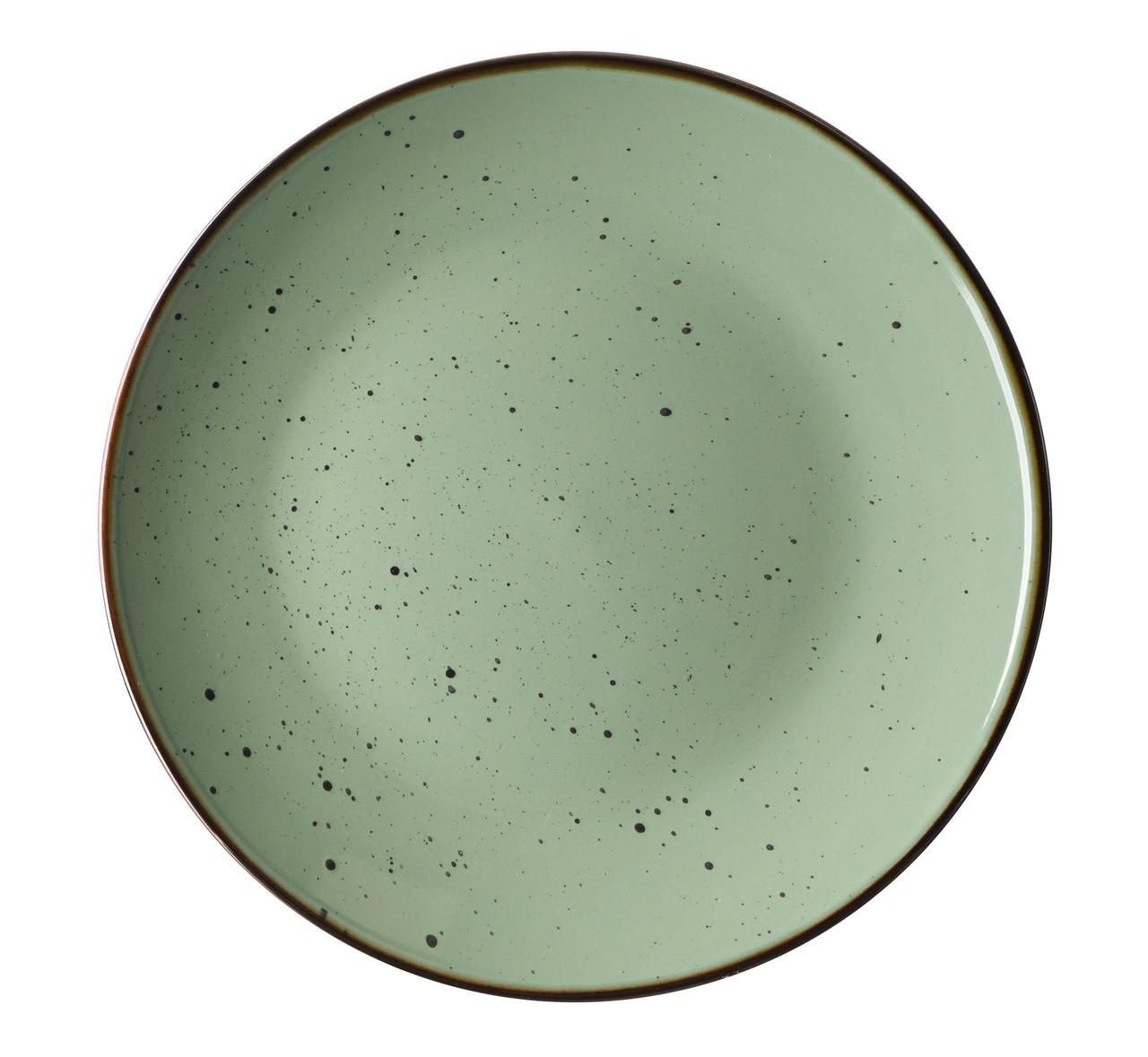 Тарелка обеденная Ardesto Bagheria 19 см Pastel Green