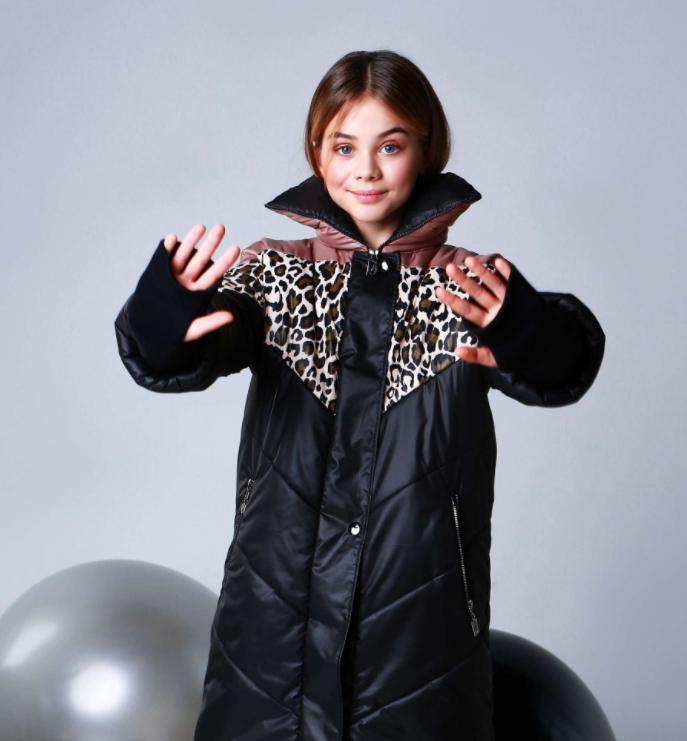 Куртка для девочки подростка ТМ МОНЕ р-р 164