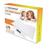 Детские электронные весы для новорожденных Esperanza EBS017 El Nino 2 в 1 White, фото 4