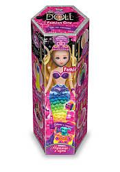 Кукла Princess doll СДЗВ-02 набор для творчества+ масса и шарик.пласт.