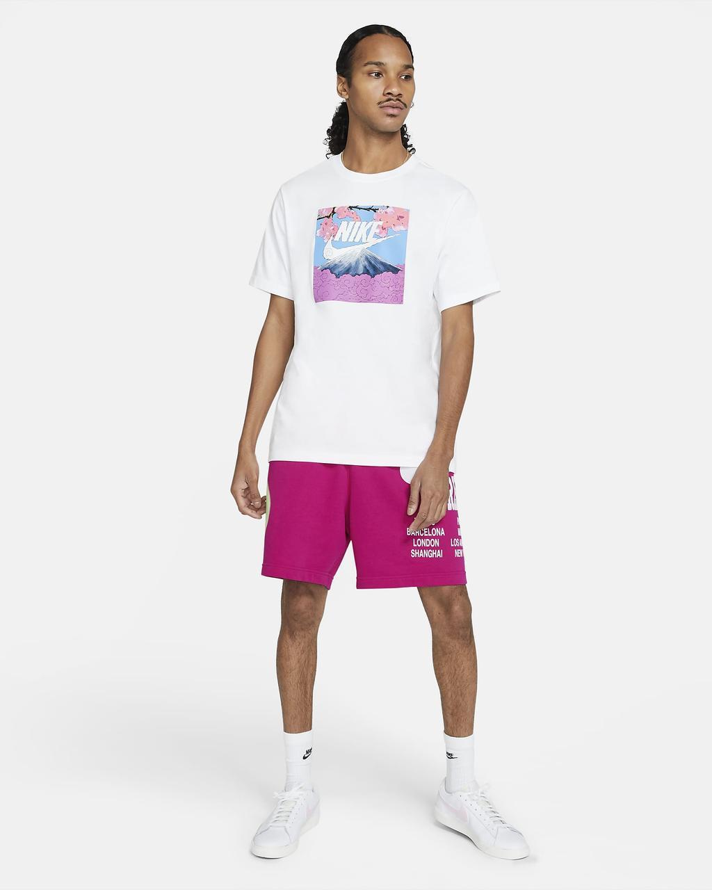 Футболка мужская Nike Sportswear Air Manga T-Shirt DB6153-100 Белый