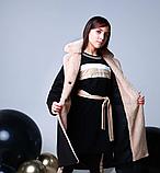 Пальто кашемир для девочки подростка ТМ МОНЕ р-р 158, фото 4