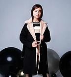 Пальто кашемир для девочки подростка ТМ МОНЕ р-р 158, фото 2