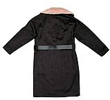 Пальто кашемир для девочки подростка ТМ МОНЕ р-р 158, фото 6