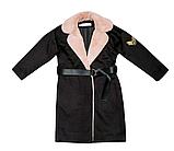 Пальто кашемир для девочки подростка ТМ МОНЕ р-р 158, фото 5