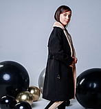 Пальто кашемир для девочки подростка ТМ МОНЕ р-р 158, фото 3
