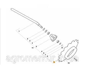 Диск маркера AC356113 Kverneland, фото 2