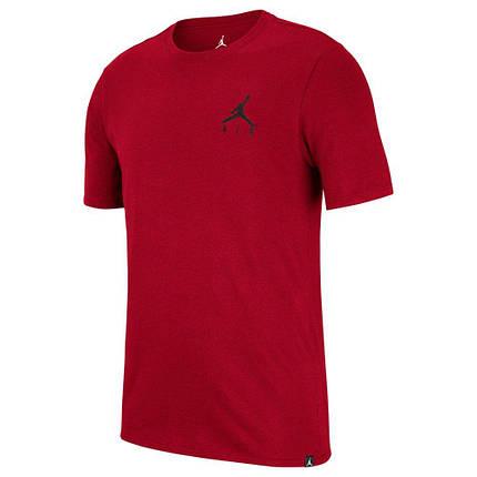 Футболка мужская Jordan Jumpman Air Embroidered Tee AH5296-687 Красный, фото 2