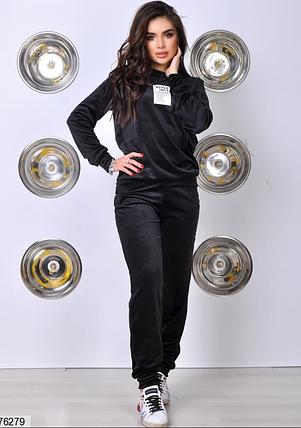 Спортивный костюм плюш Minova Украина Размеры: 42,44,46, фото 2