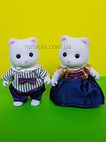Флоксовые белые котики