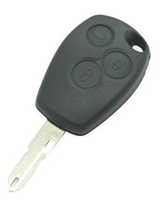 Корпус ключа на три кнопки с язычком, на Renault Trafic / Opel Vivaro / Nissan Primastar (2001-2014) PG351