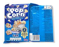 Попкорн для мікрохвильової печі Pitso солений, 100г