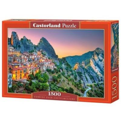 Пазлы Castorland 1500 эл. Восход солнца над Кастельмеццано