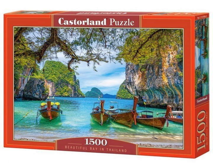 Пазлы Castorland 1500 эл. Прекрасная бухта в Таиланде