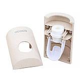 Диспенсер механический для зубной пасты ECOCO E1703 дозатор (5570-18788), фото 2