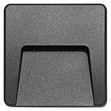 Светильник настенный лестничный Emos ZC0114 3 Вт, IP65 NW Серый, фото 2