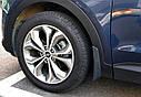 Брызговики MGC Hyundai Santa Fe (Хюндай Санта Фе) 2012-2018 г.в. комплект 4 шт 2WF46AC200, 868312W000, фото 6