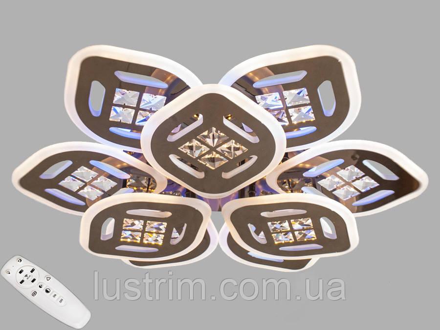 Светодиодная LED люстра с диммером и подсветкой 185W