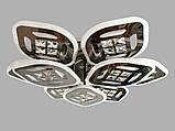 Светодиодная LED люстра с диммером и подсветкой 185W, фото 2