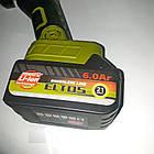 Болгарка акумуляторна Eltos МШУ-125/21 (21В, 2 акумулятора, кейс), фото 5