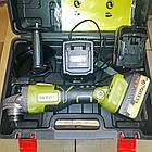Болгарка аккумуляторная Eltos МШУ-125/21 (21В, 2 аккумулятора, кейс), фото 3